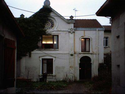 Le temple d'Épinal en 1995