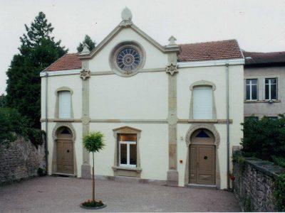 Le temple d'Épinal en 1996