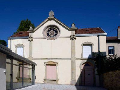 Le temple d'Épinal en 2012